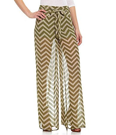 Soulmates Chevron Palazzo Pants earn where to get them at cheapchicstyles.com