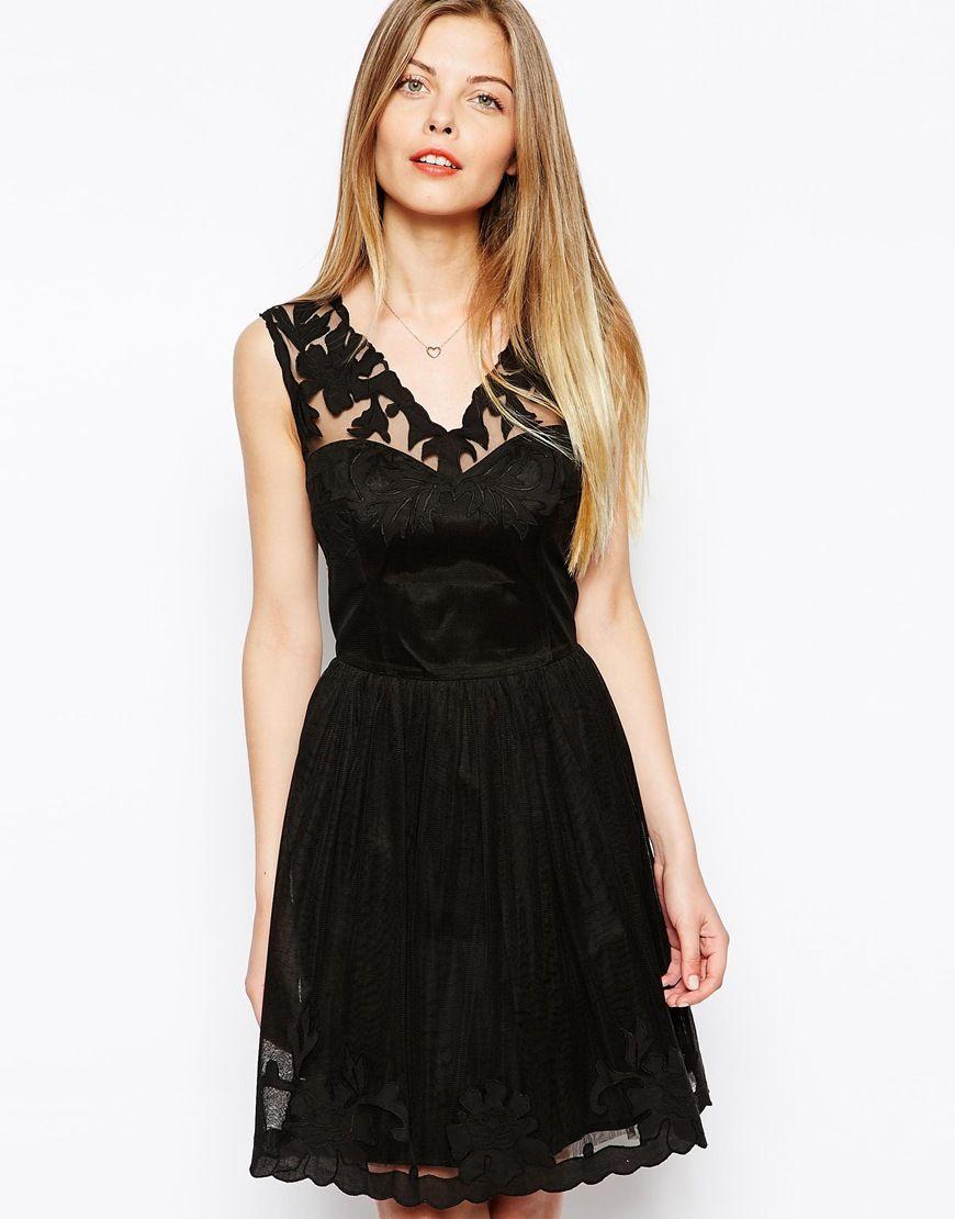 ASOS Gothic Prom Dress http://asos.to/1mAubJM | Style | Pinterest ...