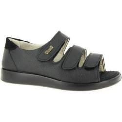 Photo of Sandals unisex Varomed moose leather Kokolla black size 37 VaromedVaromed