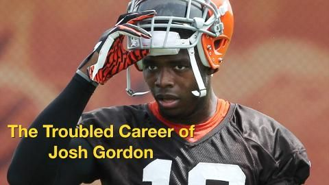 6bb45a323 Watch a timeline of the career of Cleveland Browns wide receiver Josh Gordon  as he battles