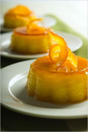 Orange-almond flan, a Sephardic Passover dessert. Photo: Francesco Tonelli for The New York Times