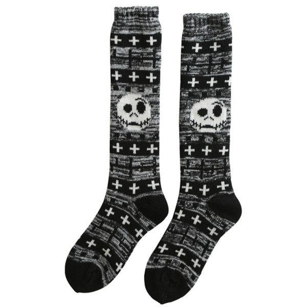 The Nightmare Before Christmas Fair Isle Knee-High Socks   Hot ...