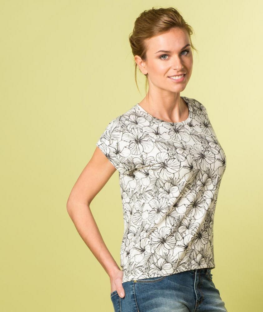 Kostenloses Schnittmuster T-shirt Odette - DE - La Maison Victor