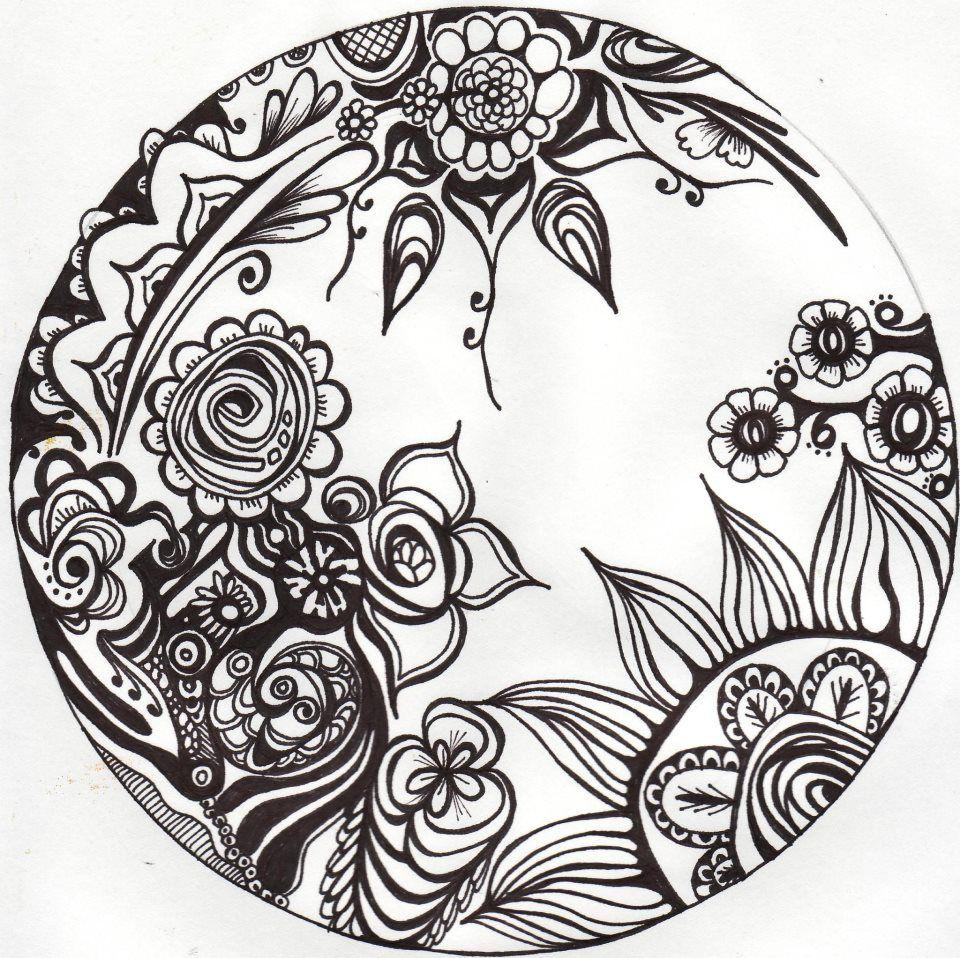 "mandala - ""google"" paieška | mandala, tegninger, blomster"