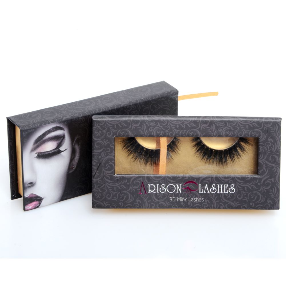 2cb5749767a Arison Lashes Mink Lashes Real Upper Mink Eyelashes Natural False Eyelashes  1 pair Handmade Fake Eye Lashes Extension -d621