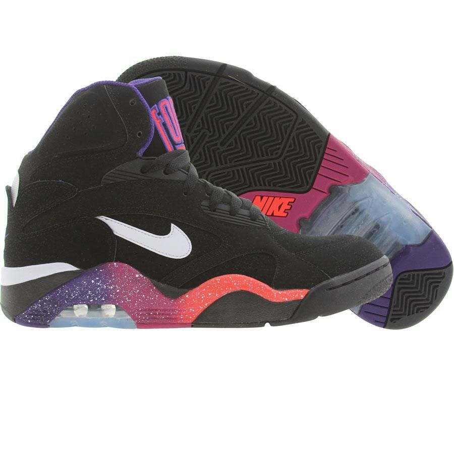 Nike New Air Force 180 Mid (black white critical purple
