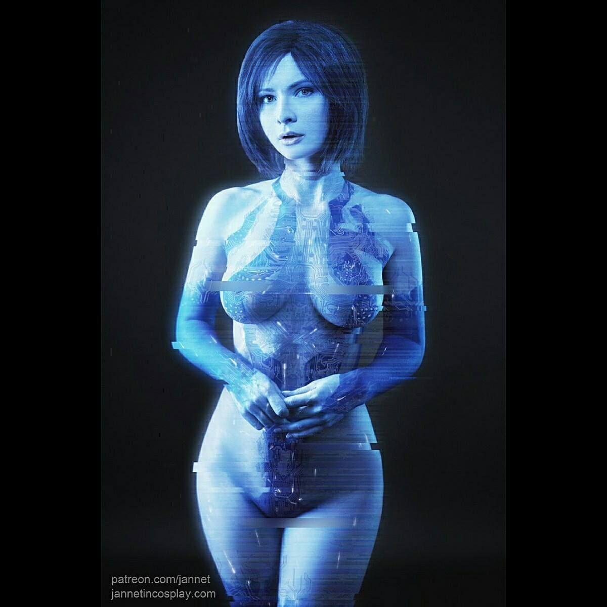 cortana naked real human