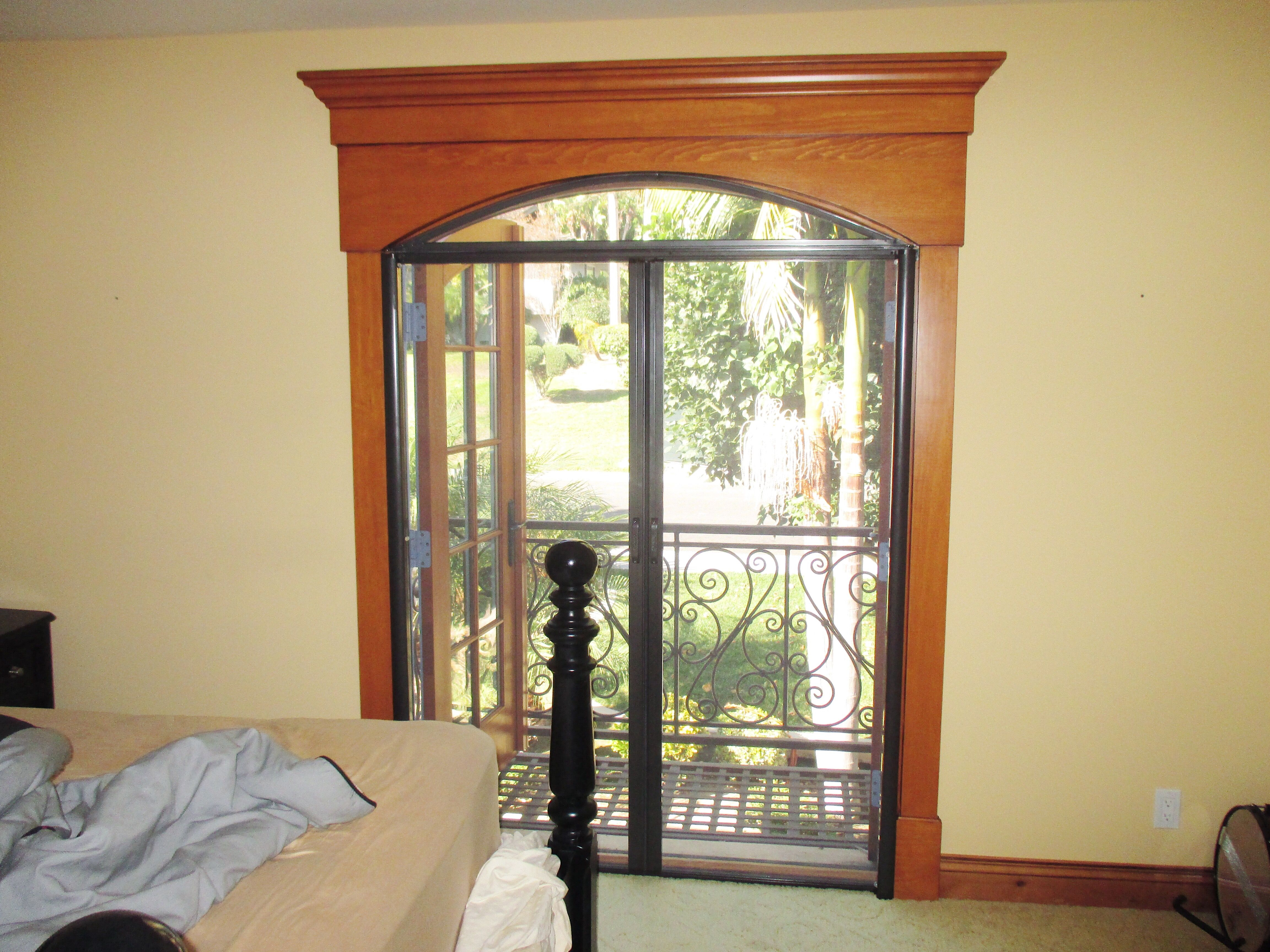 Have you been wanting a Retractable Screen Door, but your