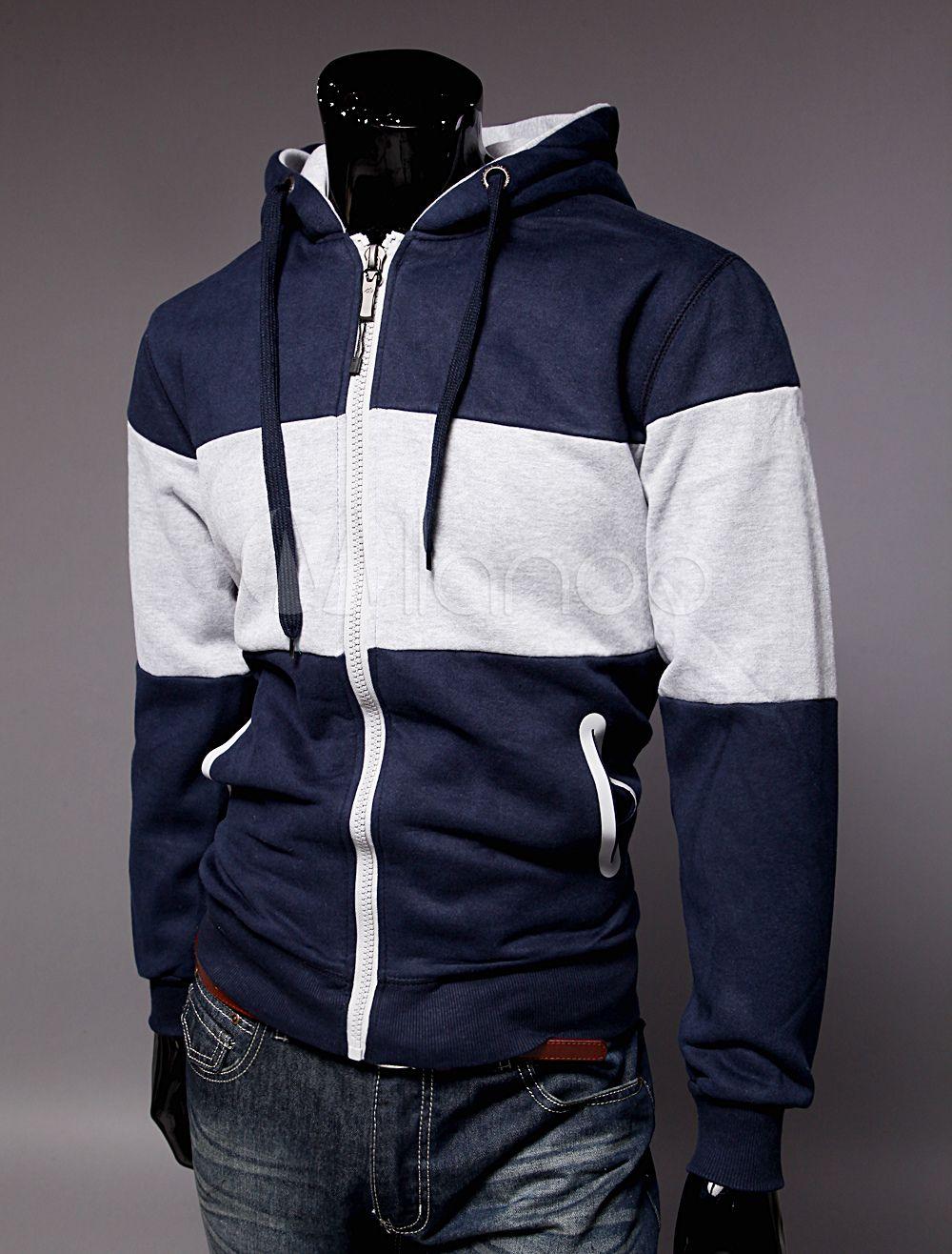 Cool twotone cotton slim fit mens sweatshirt save up