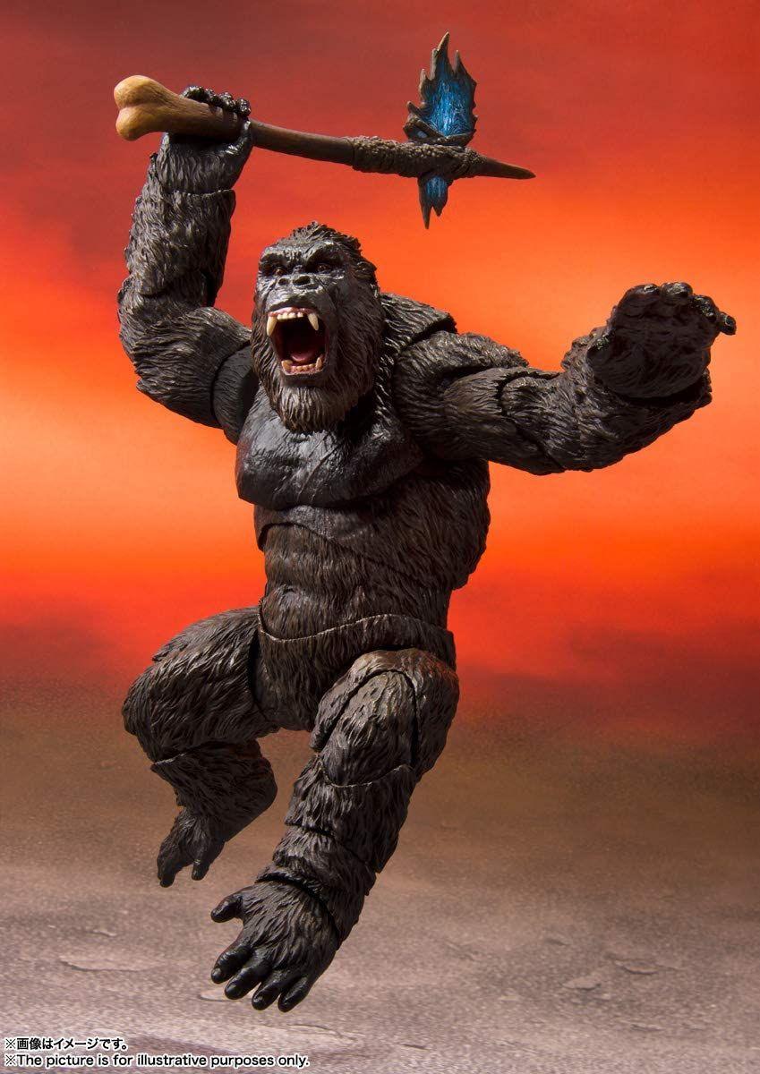 tamashii nations s h monsterarts kong from movie in 2021 king kong king kong vs godzilla king kong skull island
