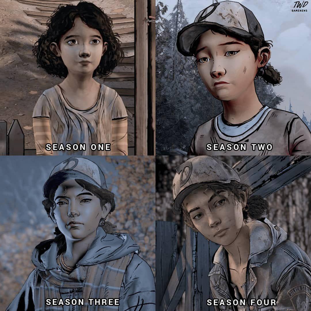 Clem Aj S Transformation My Kids Grew Up Too Fast Thewalkingdead Twd Clementine Walking Dead The Walking Dead Telltale Walking Dead Season 4