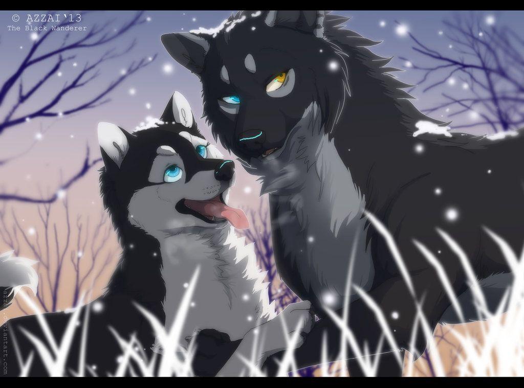 Calm Down Anime Wolf Girl Cartoon Wolf Anime Wolf