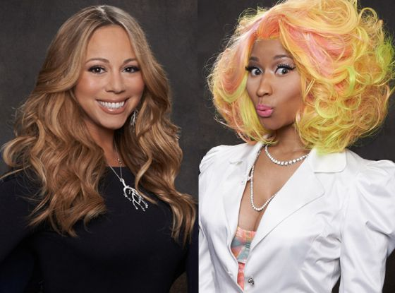 There was always hostility - Mariah made it clear that she wanted to be the only woman on the panel.