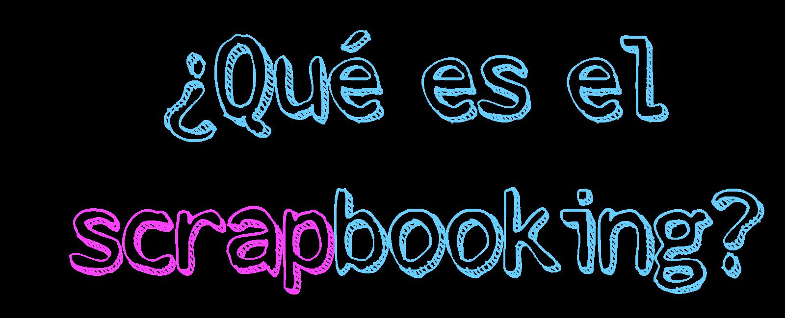 Cuquicosas Blog: Iniciación al Scrapbooking
