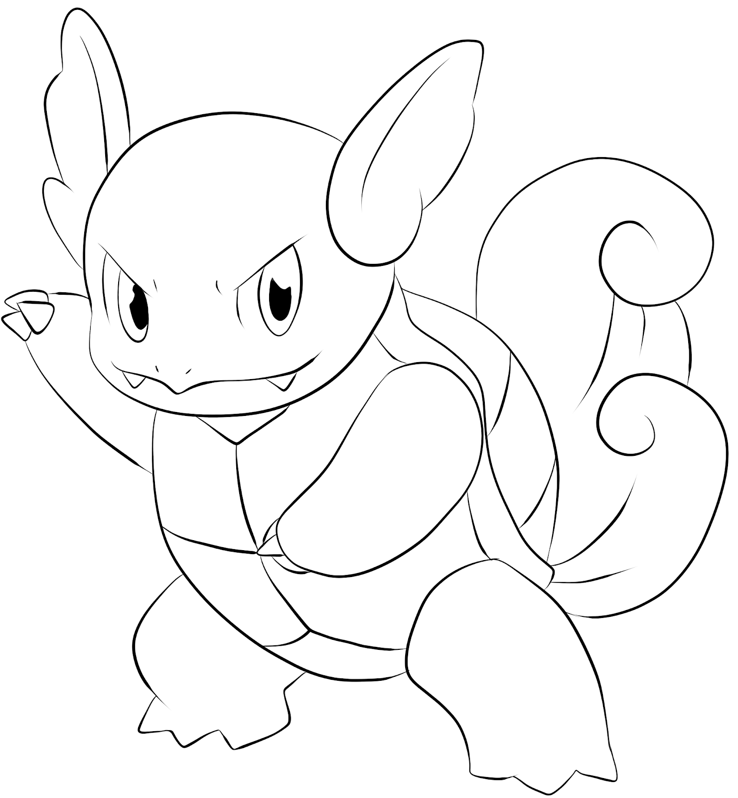 Wartortle Coloring Pages Pokemon Coloring Pages Turtle Coloring Pages Pokemon Coloring