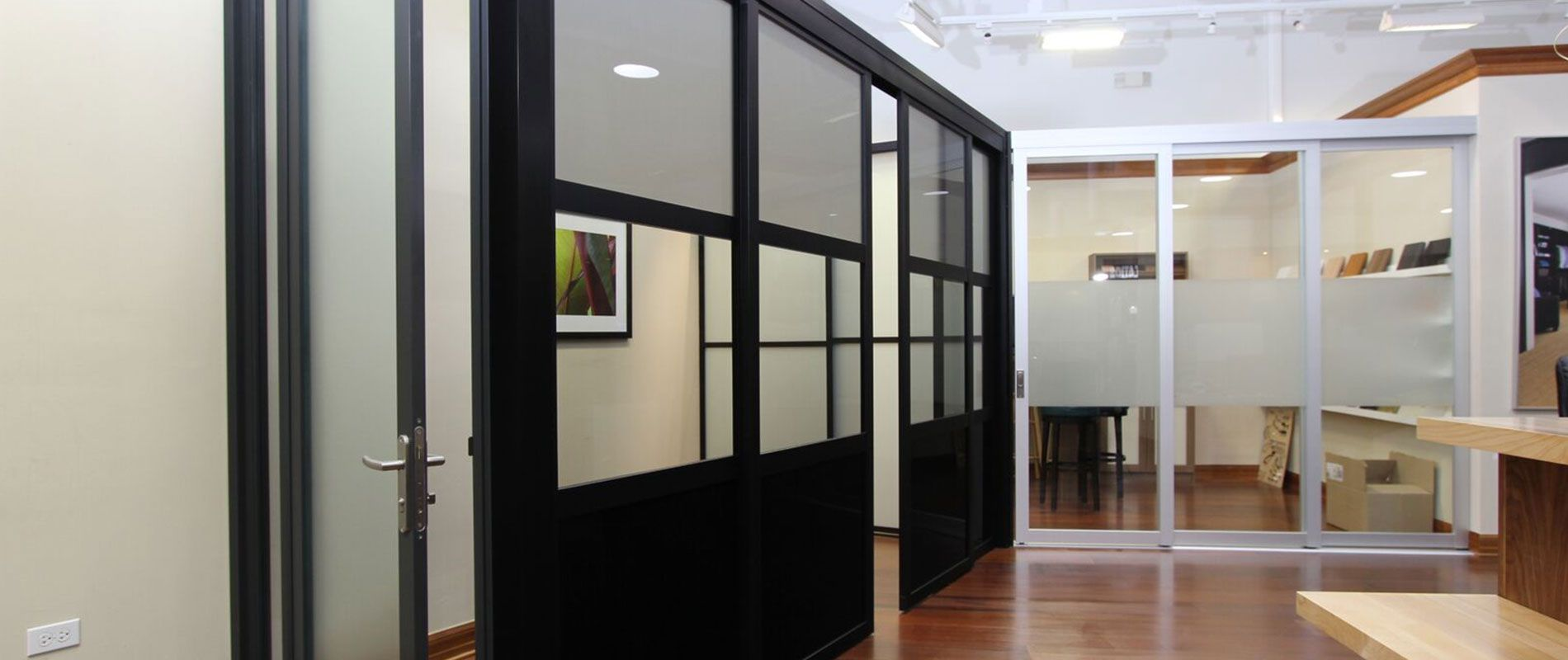 Glass office doors manufacturers - We Manufacture Install Glass Office Partitions Cubicles Enclosures Room Dividers Privacy Walls Doors In Clear To Opaque Glass Styles