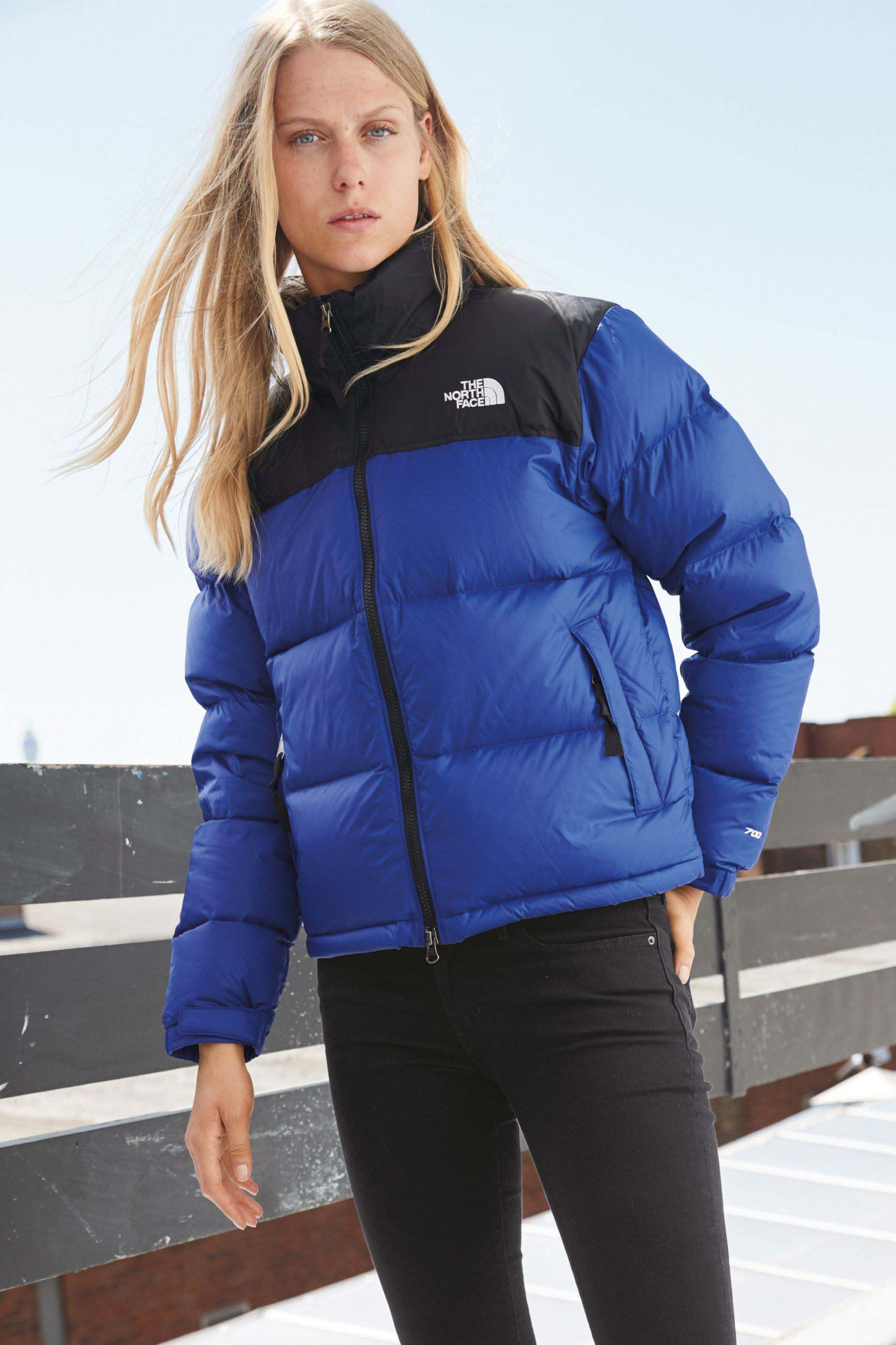 4080bed0a Womens The North Face 1996 Retro Nuptse Jacket - Blue | S T Y L E in ...