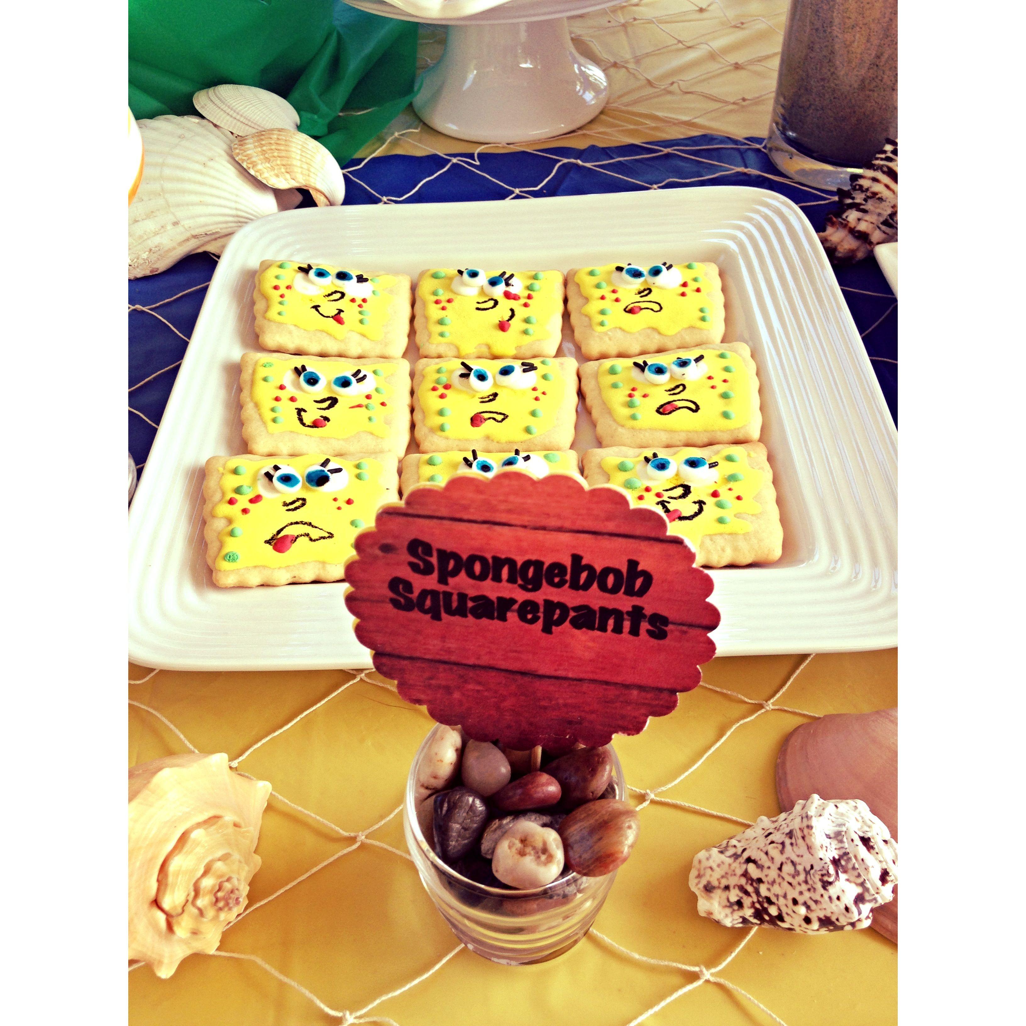 We Heart Parties: Spongebob Birthday Party   spongebob birthday ...