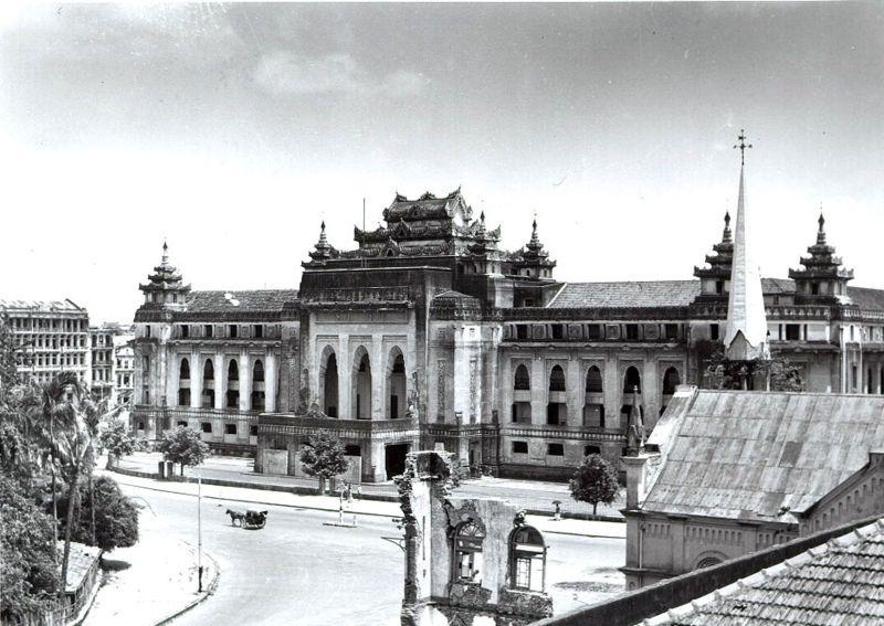 Rangoon City Hall City Hall Architecture Yangon City Hall