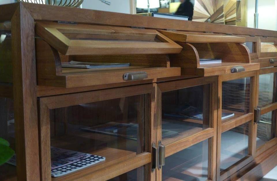 Mueble Arrimo Madera | Oeste Consultora SA, de CV. | Pinterest ...