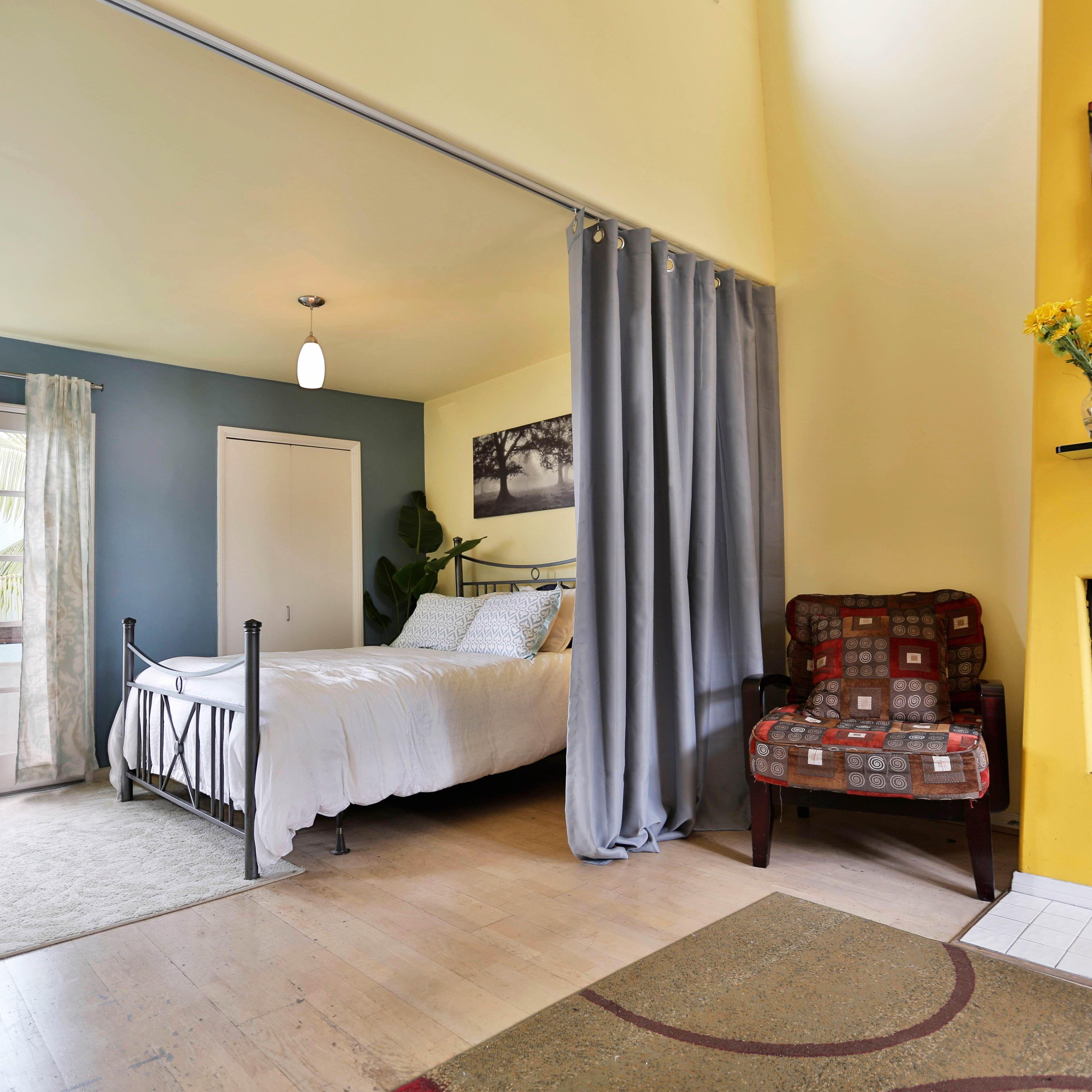 Ceiling Track Room Divider Kits Studio Apartmentapartment