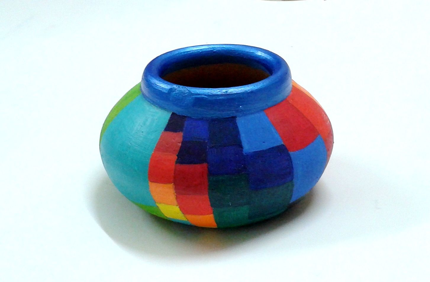 Painted Earthen Pot Pottery Painting Designs Painting Crafts