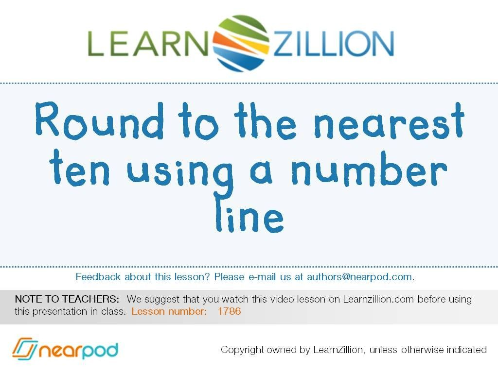 Check out this amazing Math presentation on Round to the nearest ten ...