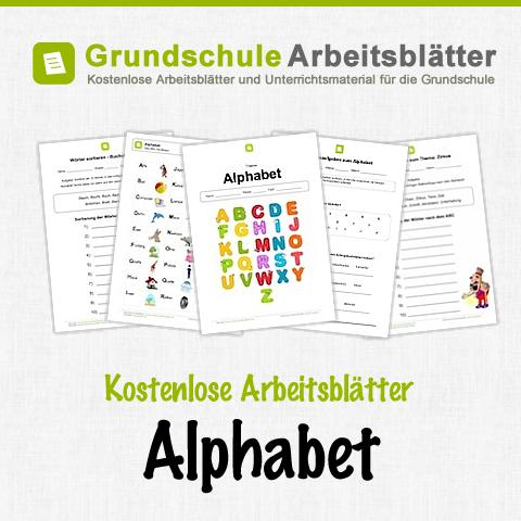 kostenlose arbeitsbl tter und unterrichtsmaterial f r den deutsch unterricht zum alphabet in der. Black Bedroom Furniture Sets. Home Design Ideas