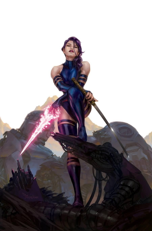 Psylocke by Ian Navarro *   Marvel girls, Comics girls