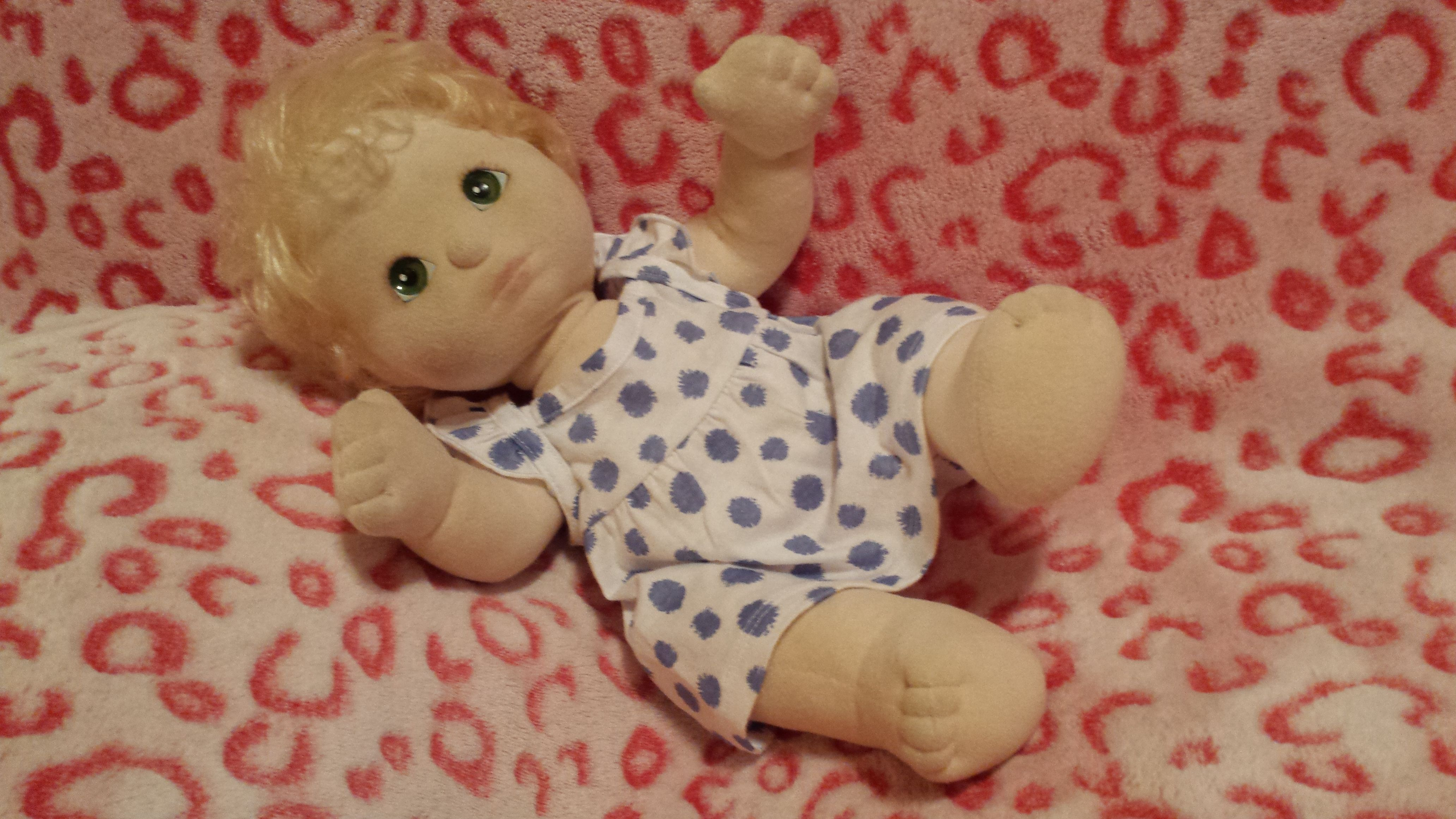 My Child doll Cloth doll with rooted hair  Whatus A Nice Doll