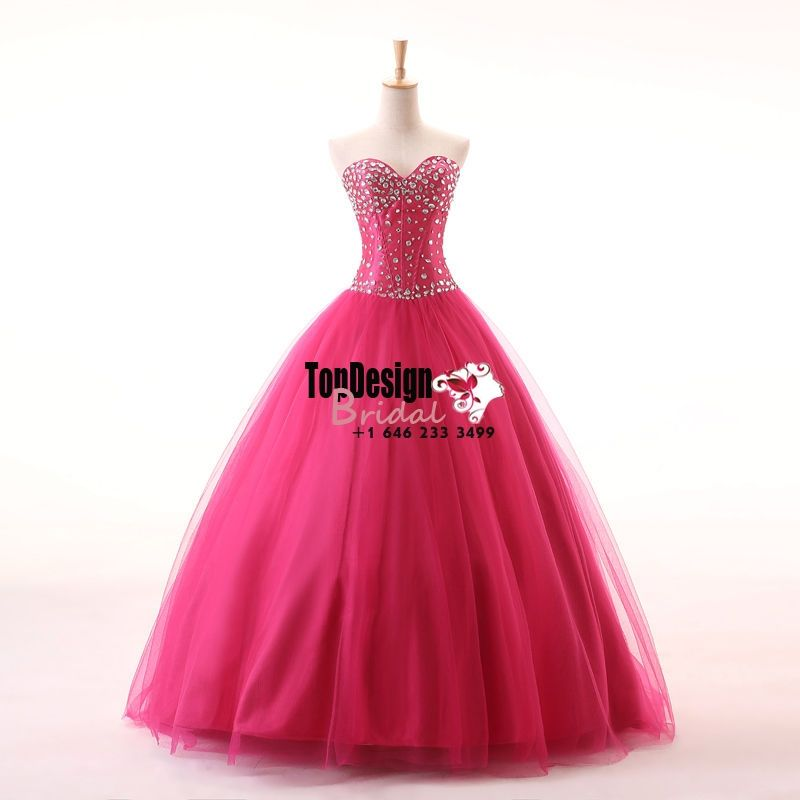 Wholesale 2017 Sweet 15 Dress New Long Quinceanera Dress Evening Prom Party Pageant Dress Ball Gown Size