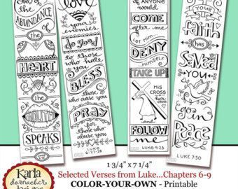 Free Printables For Bible Journaling