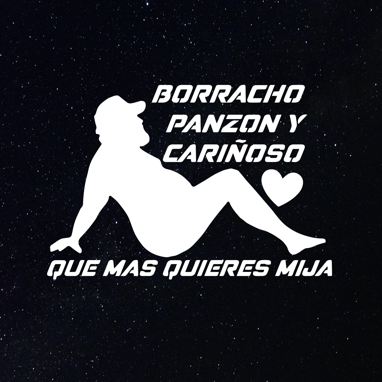 Borracho Panzon Decal Para La Troca Puro Trokiando Tengo Etsy In 2021 Custom Decals Funny Phrases Joker Hd Wallpaper