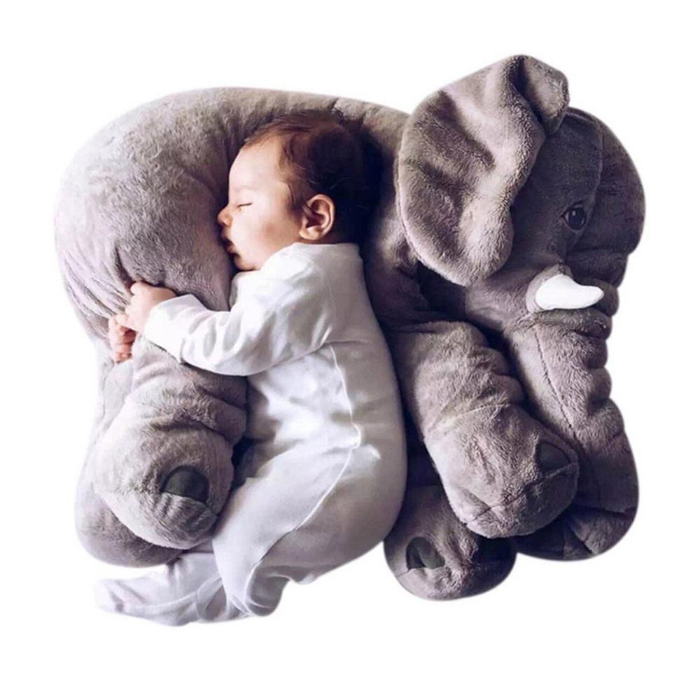 Super Soft Plush Giant Elephant Sleeping Pillows Babies