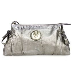 736d3cd7d3b Gucci Metallic Gold Leather Hysteria Large Clutch Handbag -  199.99 ...