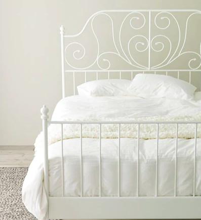 Us Furniture And Home Furnishings Bettgestell Ikea Leirvik