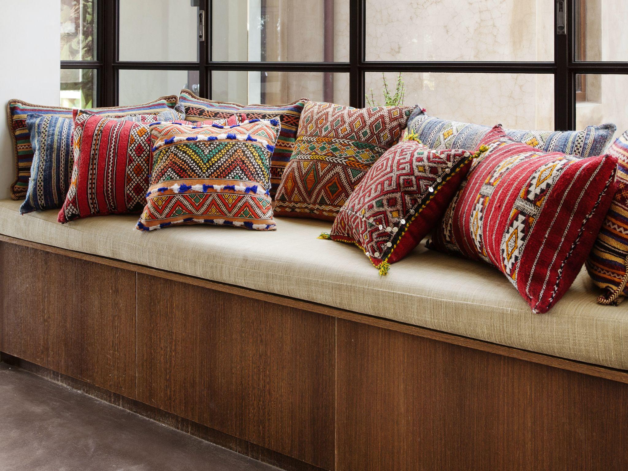 Bohemian Love Berber Cushions Barefoot Gypsy