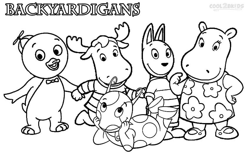 Printable Backyardigans Coloring Pages For Kids Cool2bkids Nick Jr Coloring Pages Coloring Pages Cool Coloring Pages