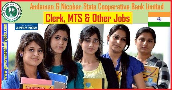 andaman nicobar state cooperative bank recruitment 2019 apply online