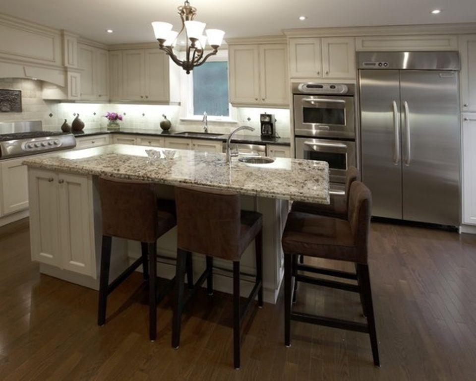 Custom Kitchen Islands with Seating   Kitchen   Kitchen ...