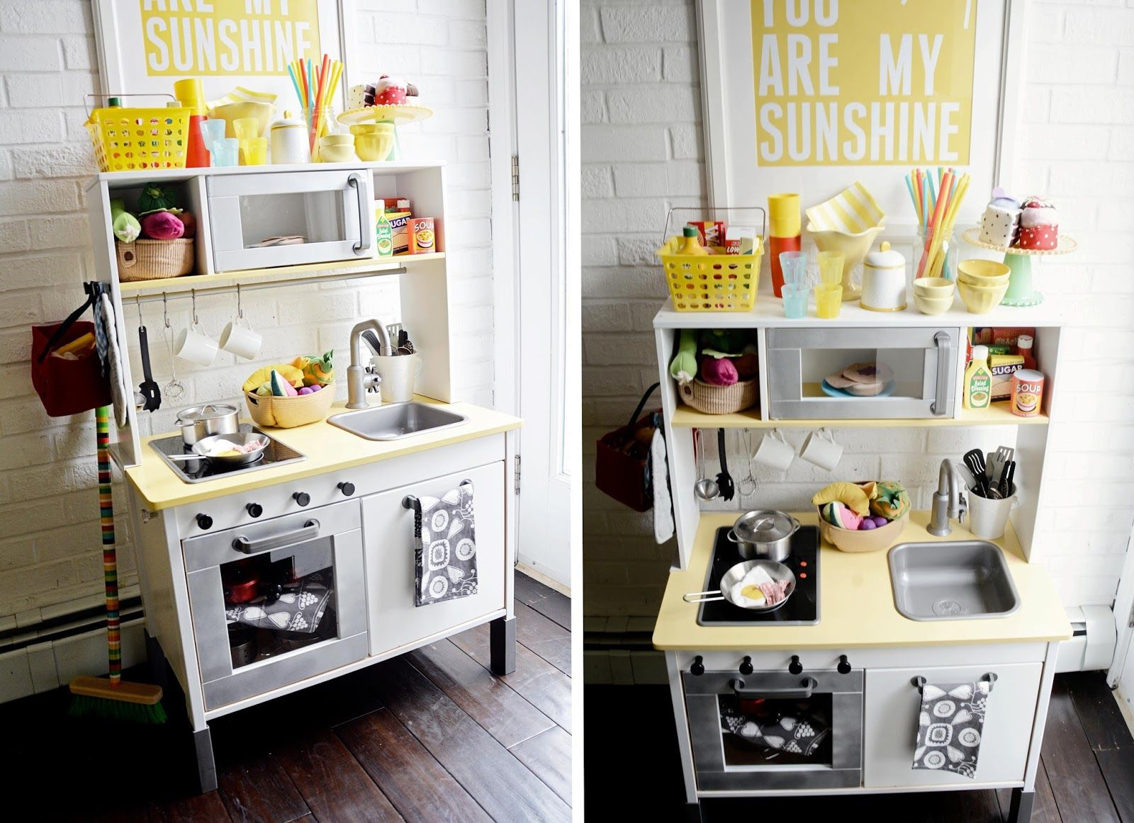 I never thought about buying G a play kitchen, at least