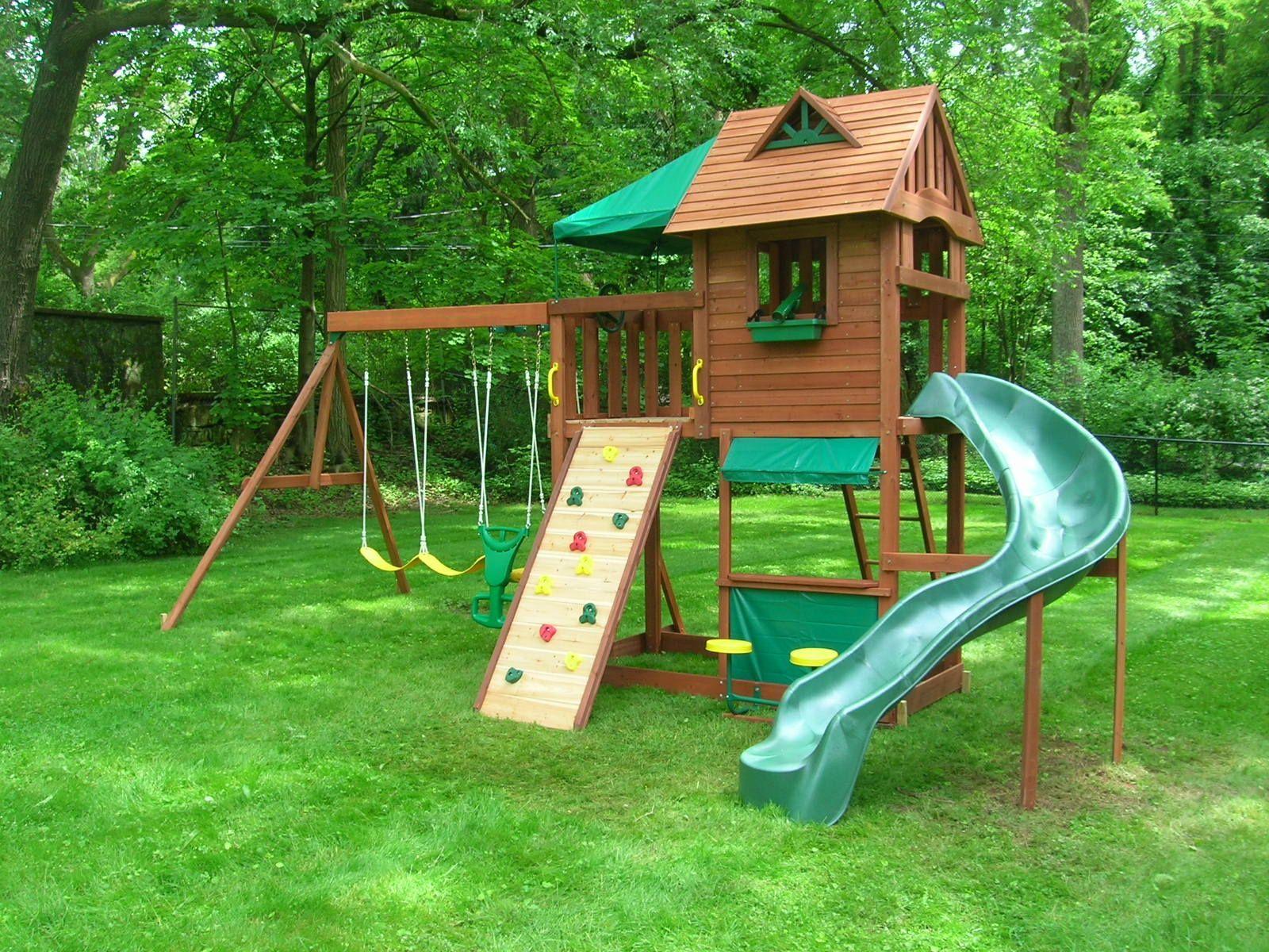 Impressive Backyard Jungle Gym Ideas | Backyard jungle gym ...