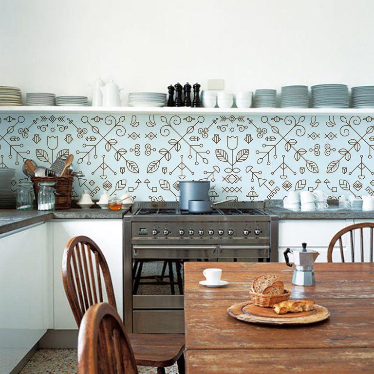 kitchenwalls kuche tapete Interiors Pinterest Wallpaper