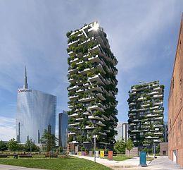 Bosco Verticale Mailand Zeitgenossische Architektur Grune Architektur Architektur