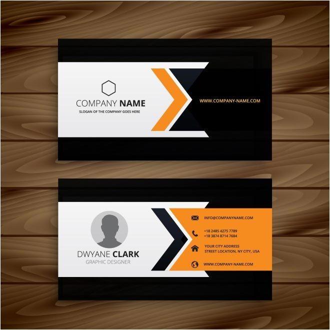 Free Vector Dwayne Clark Business Cards Http Www Cgvector Com Free Vector Dwayn Business Cards Vector Templates Vector Business Card Business Card Minimalist