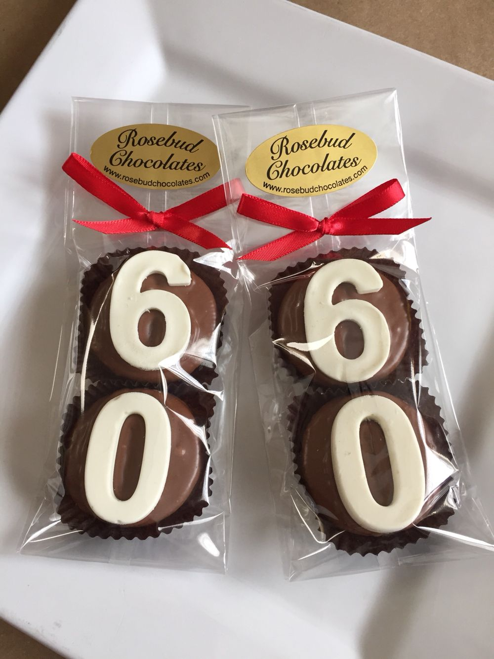 60th Birthday Chocolate Dipped Oreo Cookie Party Favors Wwwetsy