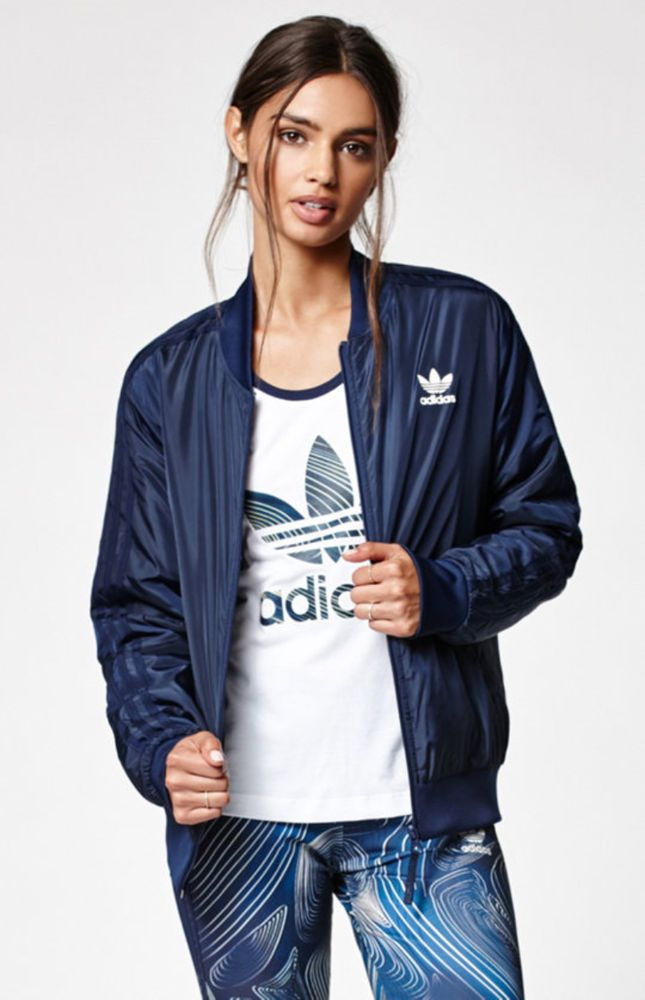 42f2e4c21a19a6 MED.3PC SET adidas Women's BLUE GEOLOGY : SUPERSTAR Jacket Leggings & Tank  Top   Clothing, Shoes & Accessories, Women's Clothing, Athletic Apparel    eBay!