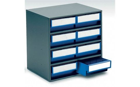 Storage Design Limited Containers Bins Small Parts Steel Cabinets 300mm Deep Range