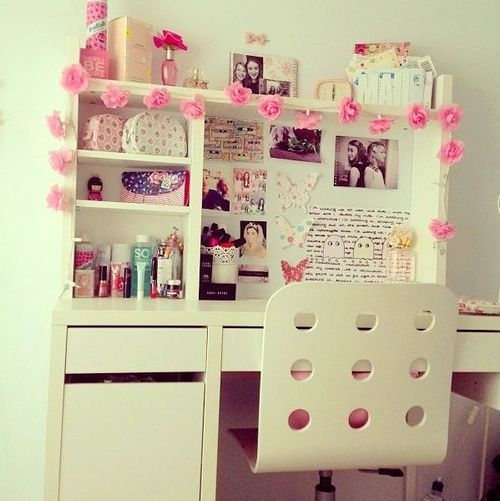 How to decorate the perfect pink dorm room diy room - Do it yourself bedroom decorations ...