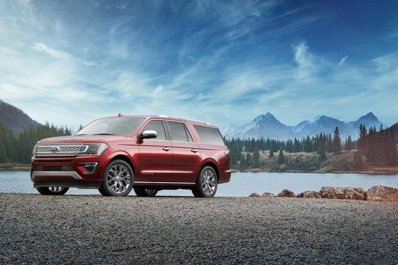 2018 Ford Expedition Platinum In Ruby Red Ford Expedition Expedition Ford